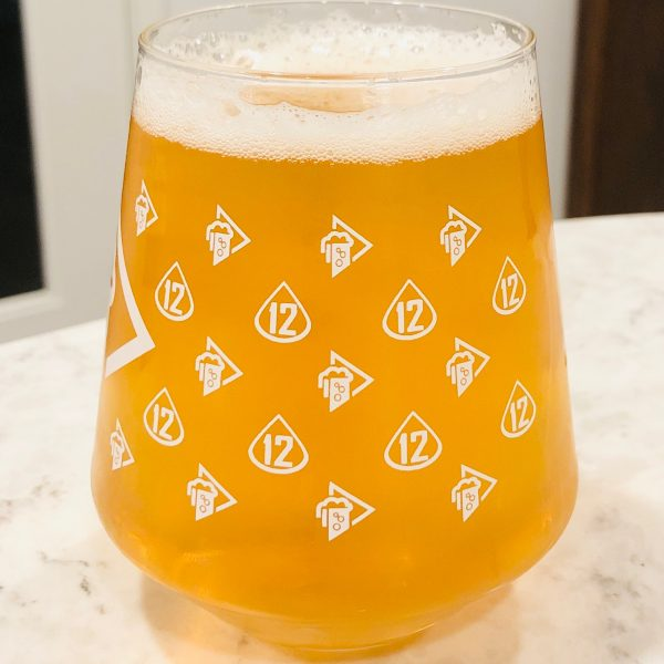 TFP 12th Anniversary Glass