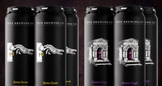 TRVE Brewing - Cosmic Crypt & Seven Doors Cans