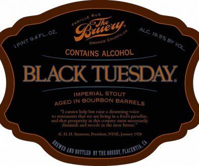 The Bruery Black Tuesday 2017
