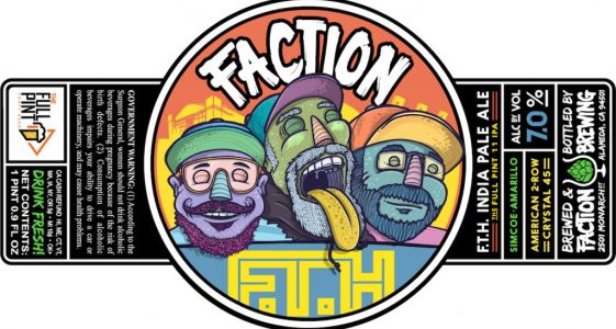 The Full Pint Faction Brewing FTH IPA