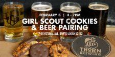 Thorn Brewing - Girl Scout Cookies & Beer Pairing