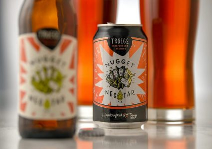 Troegs Nugget Nectar 16 oz can