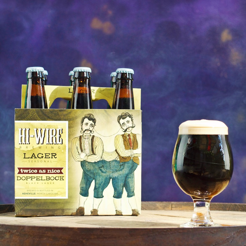 Hi-Wire Brewing - Twice As Nice Doppelbock
