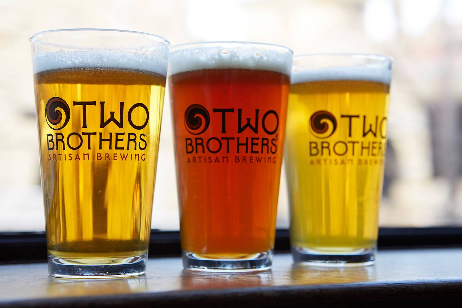 Two Brothers Brewing Glassware