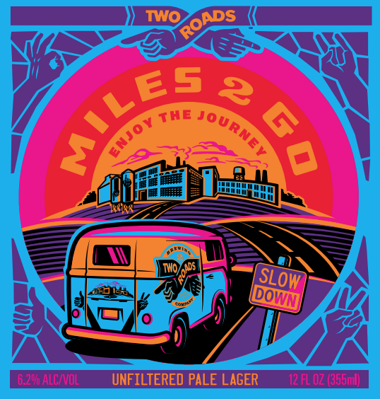 Two Roads Brewing - Miles 2 Go