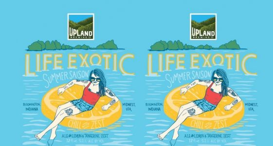 Upland Brewing LIfe Exotic