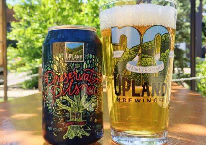Upland Brewing Preservation Pilsner