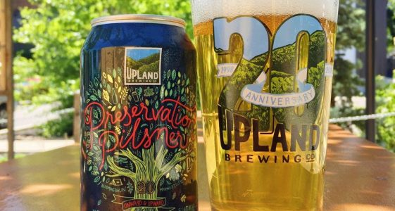 Upland Brewing Preservation Pilsner