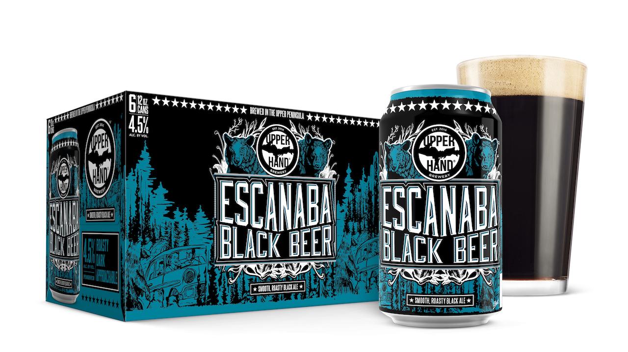 Upper Hand Escanaba Black Beer