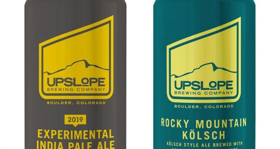 Upslope Brewing - 2019 Experimental IPA and Rocky Mountain Kolsch
