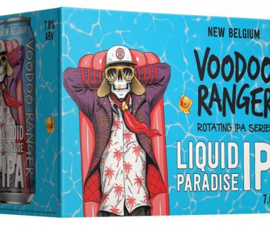 Voodoo Ranger Liquid Paradise IPA 12 oz can 6 pack angle