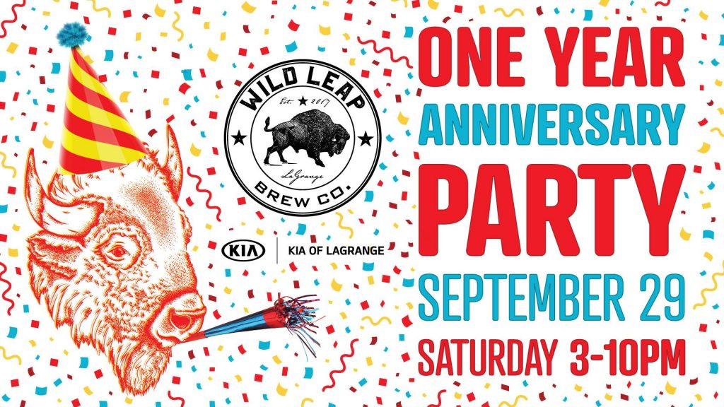 Wild Leap Brew Co. - One Year Anniversary