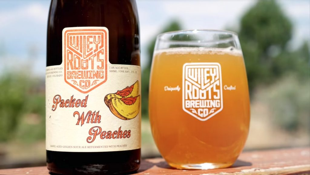Wiley Roots Packed with Peaches