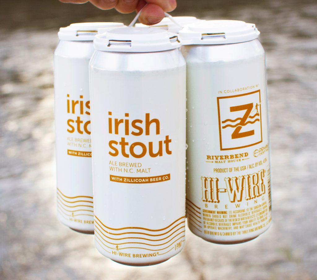 Hi-Wire Brewing - Zillicoah Beer Co. - Irish Stout
