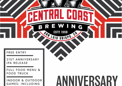 Central Coast Brewing - 21st Anniversary