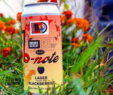 Bronx Brewery & Baldor Specialty Foods - B-Note Blackberry Lager