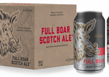 Devil's Canyon Brewing - Full Boar Scotch Ale (Cans)