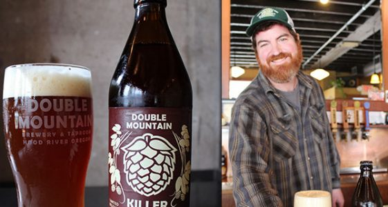Double Mountain Brewery Fresh Hop Killer Red & Killer Green