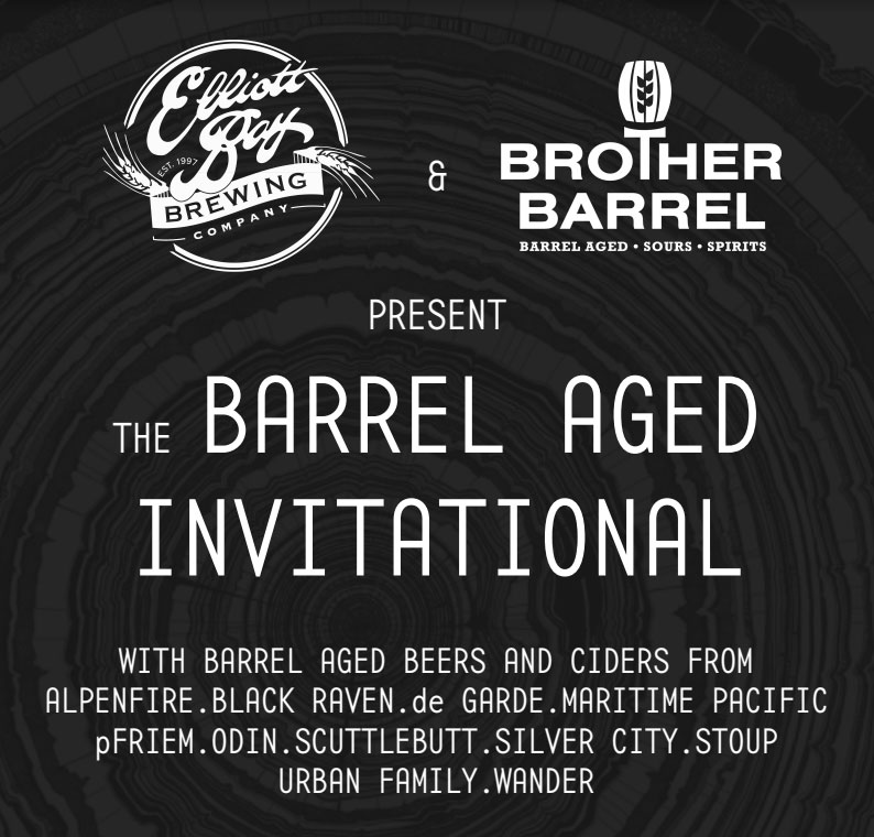 Elliott Bay Barrel Aged Invitational