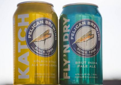 Pelican Brewing - Kölsch Style Ale With Lemon & Brut IPA