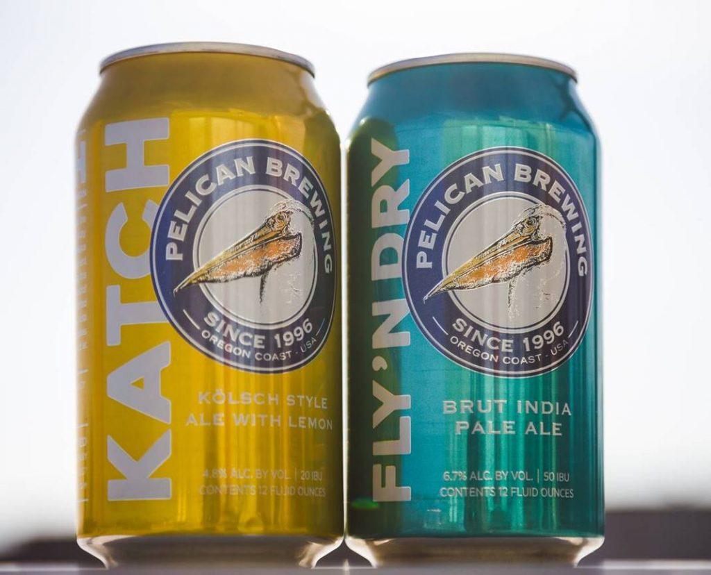 Pelican Brewing - Kölsch Style Ale With Lemon & Brut IPA