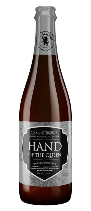 Brewery Ommegang - Game of Thrones® -  Royal Reserve Collection - Hand of the Queen Barleywine