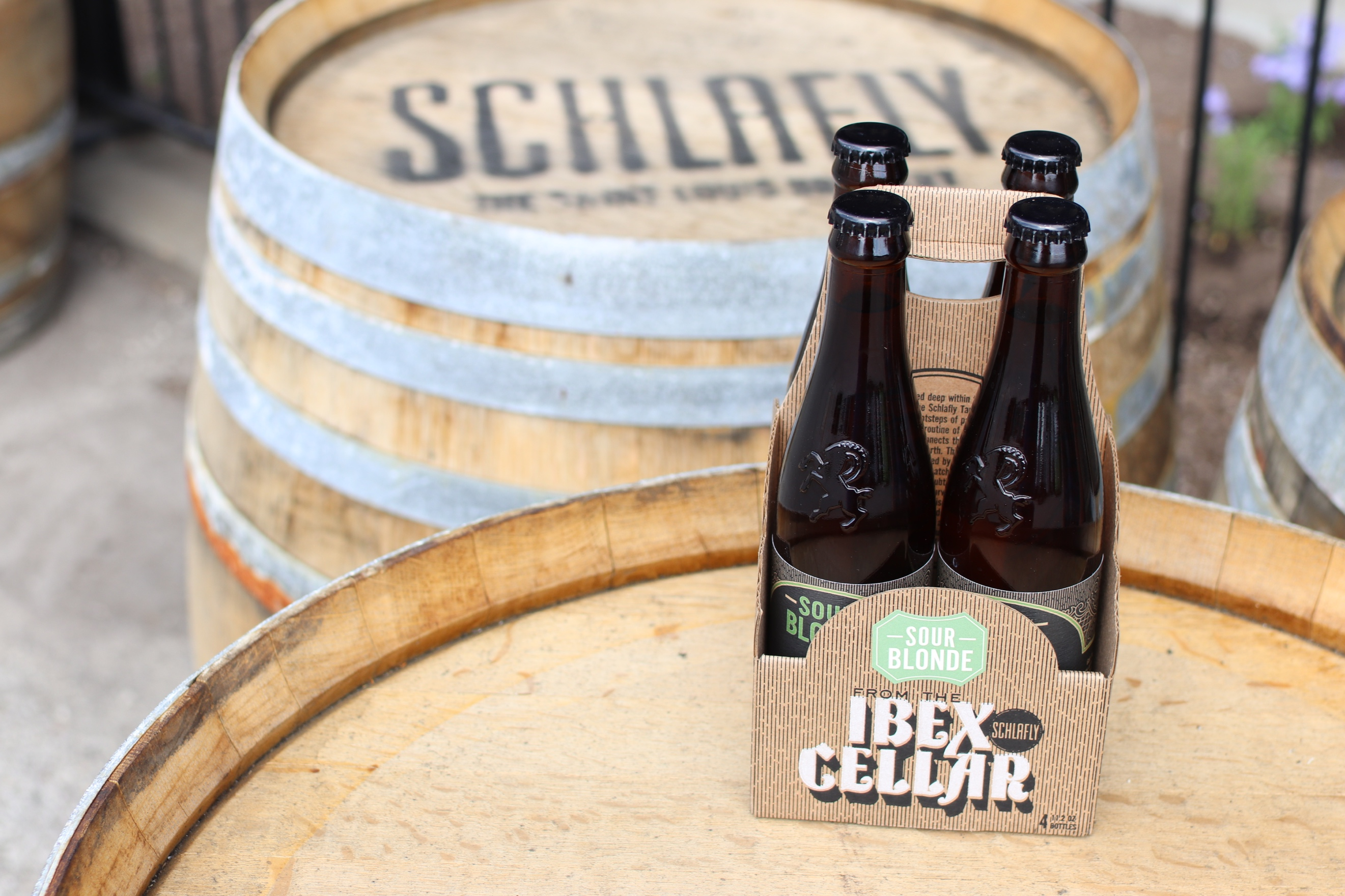 Schlafly From The Ibex Cellar Sour Blonde Ale Debuts This Month