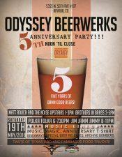 Odyssey Beerwerks 5th Anniversary