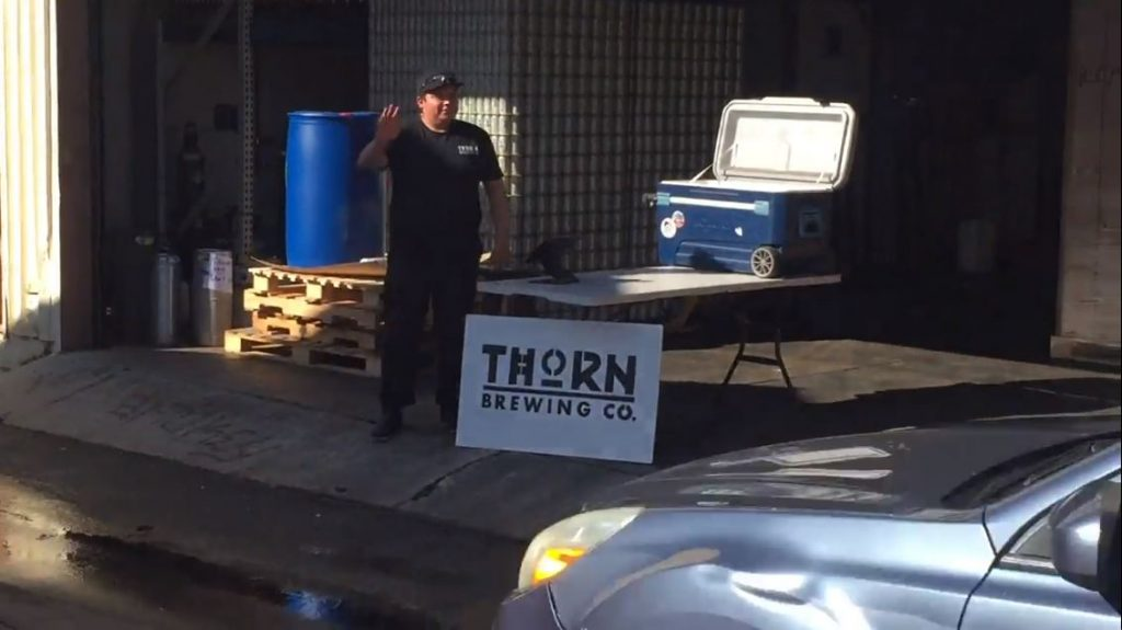 Thorn Brewing Drive-thru