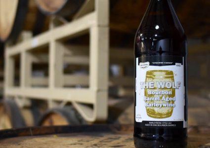 Big Boss Brewing - The Wolf (Bourbon Barrel Aged Barleywine)