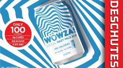 Deschutes Brewing - WOWZA! Lo-cal Hazy Pale Ale