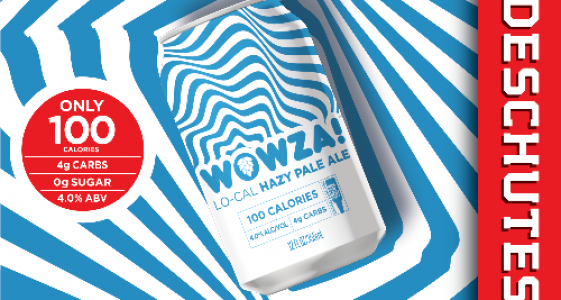Deschutes Brewing - WOWZA! Lo-cal Hazy Pale Ale