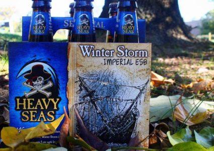 Heavy Seas Beer - Winter Storm Imperial ESB 2018