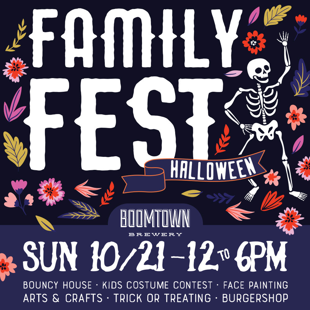 Boomtown Brewery - Halloween Family Festival