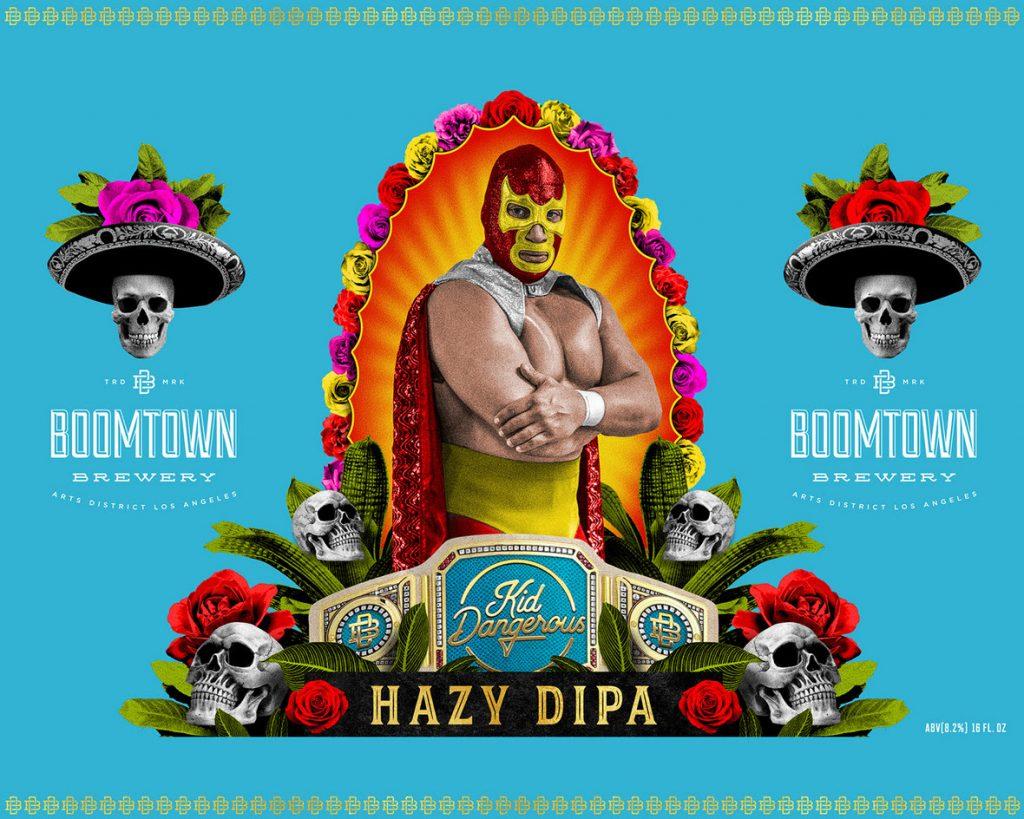 Boomtown Brewery - Kid Dangerous Hazy IPA