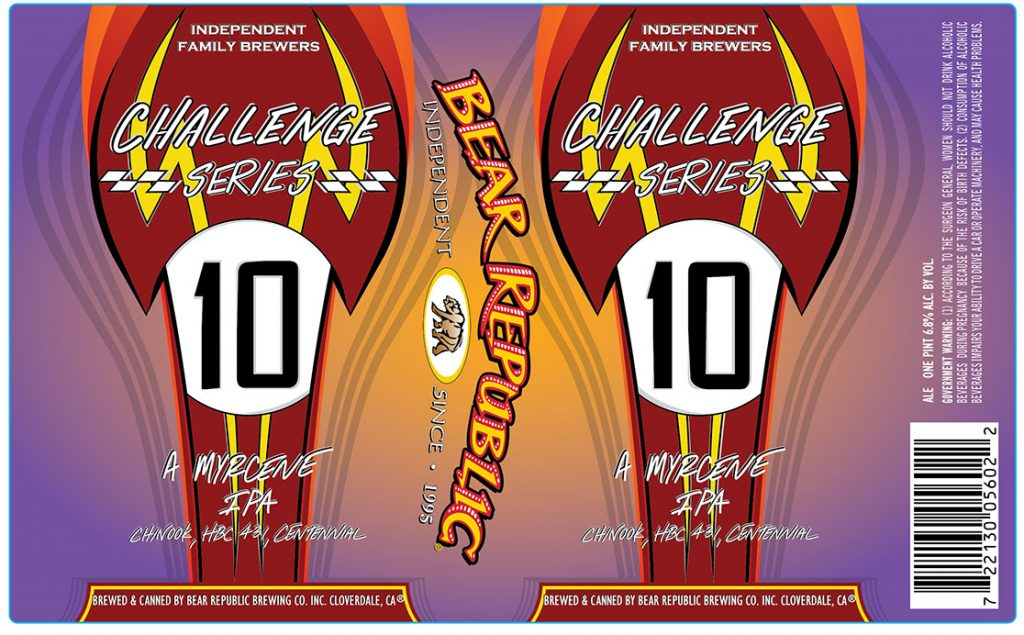Bear Republic - Challenge Series #10 A Myrcene IPA Release