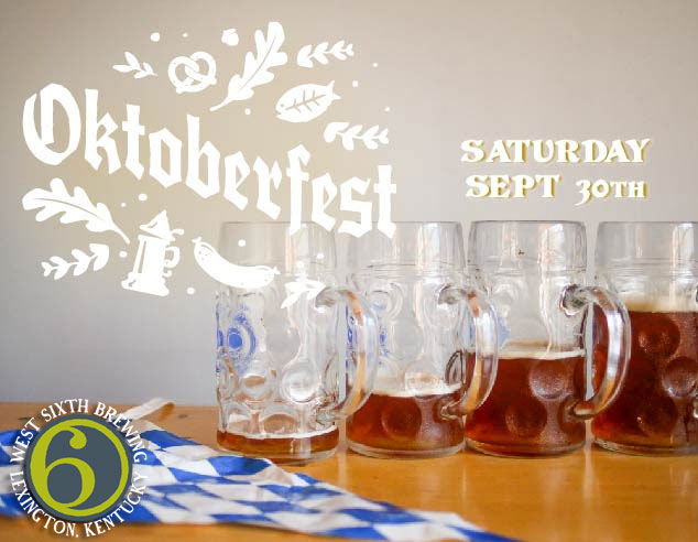 West Sixth Brewing Oktoberfest