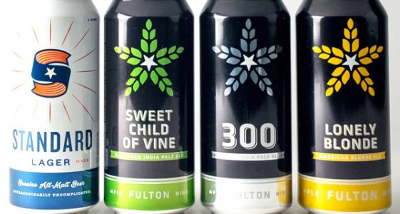 Fulton Beer - Can Lineup 2017