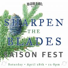 Burial Beer Co. - Sharpen the Blades Saison Fest