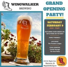 Wingwalker Brewing - Grand Opening